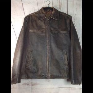 Bke67 size M Leather Jacket